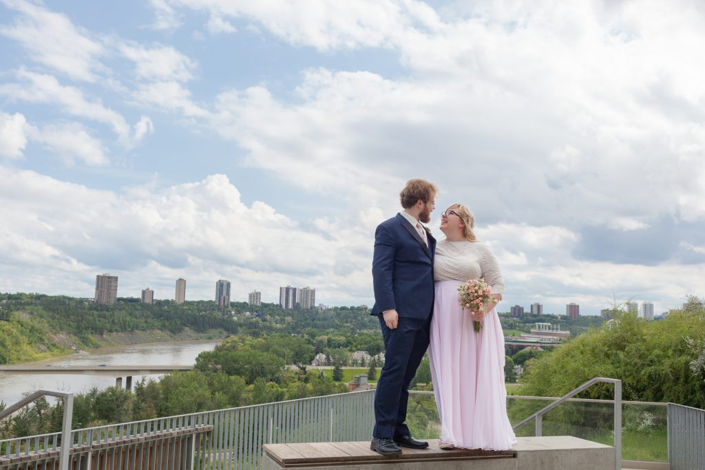 funicular wedding photos edmonton