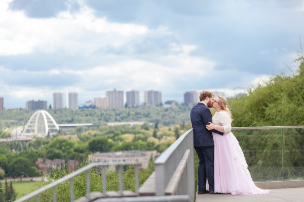 St Albert Parish Wedding – Leanna & Zach