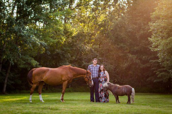 Engagement Photos with Horses – Cody & Rachel
