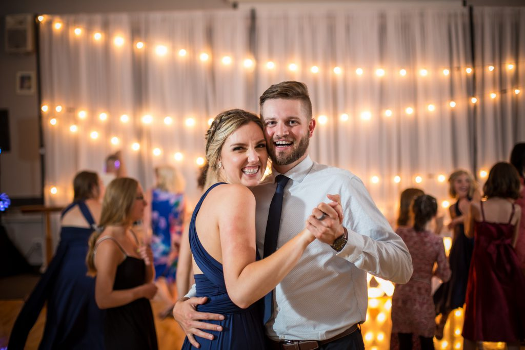 wedding dance at clymont hall
